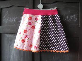 Effie maakt: rokjes (die haar meisjes niet zullen dragen)