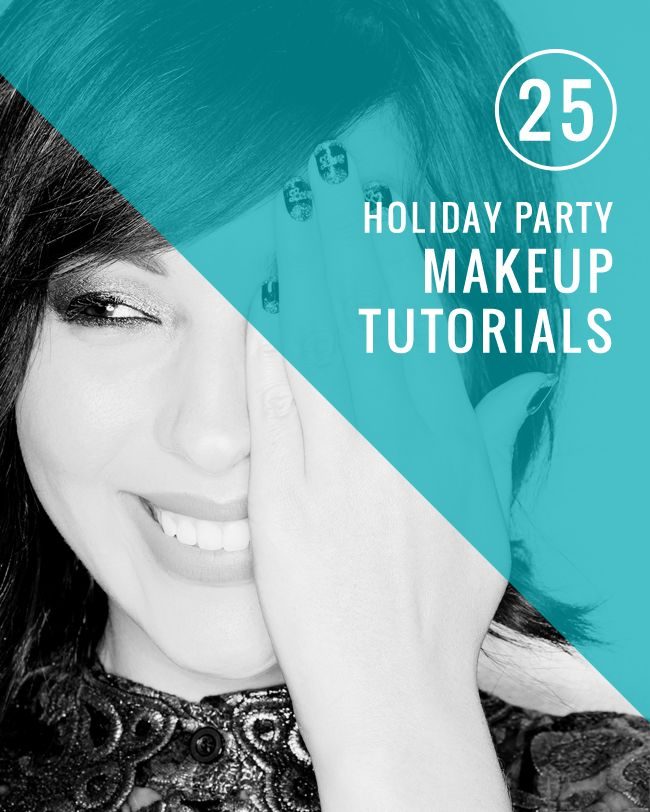 25 Holiday Party Makeup Tutorials