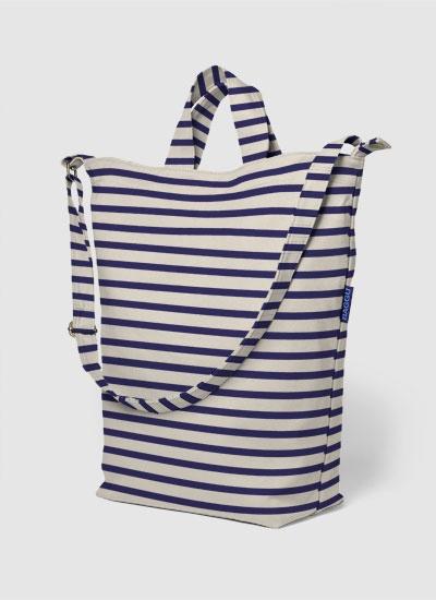 BAGGU: Ducks Bags, Style, Sailors Stripes, Beaches Bags, Cotton Canvas, Products, All, Canvas Ducks, Baggu Ducks