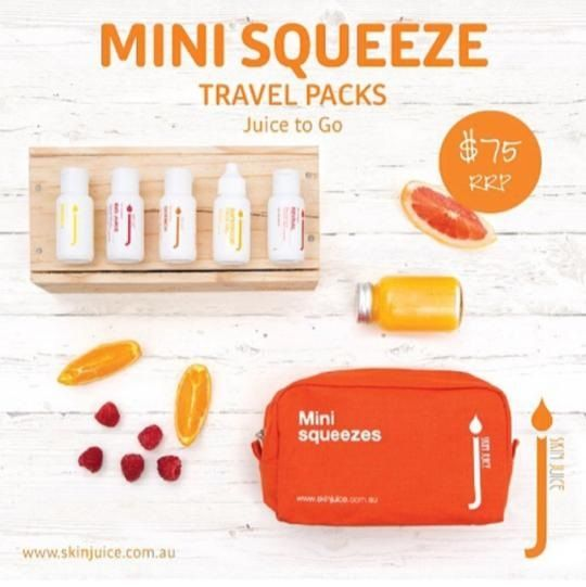 This ✈⛵travel pack can last you up to a month before needing to refill. ❤travel packs come in 4 varieties to suit your skin ❤Signature ❤ Combination ❤Sensitive/Dry ❤Oily Skin. Grab yourself a gift for your skin this holiday. #skinjuice #holidays #travel #skincare #australianmade #natural #southcoast #beautysalon #organicsalon