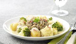 Recept » Colruyt Culinair: bloemkool-curry met linzen