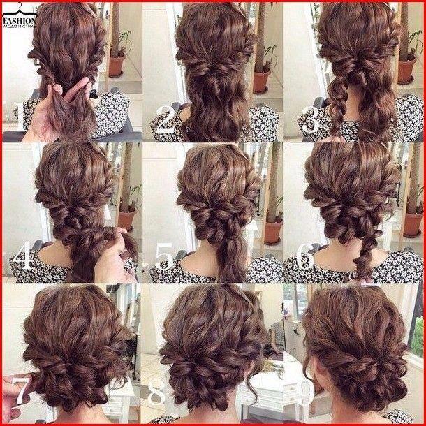 Cute Prom Hairstyle for Shoulder Length Hair #hairstyles #braidedhair #braided #hair #Longhairhairstyles