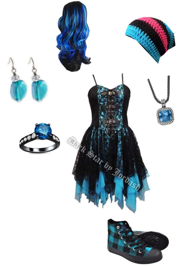 """""""Black And Blue"""" by sbeathard ❤ liked on Polyvore"""