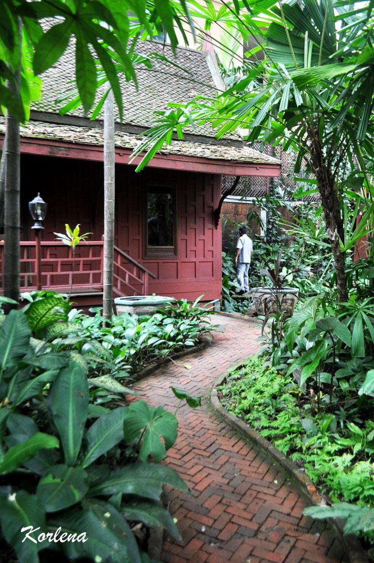 Thai traditional house - Jim Thompson House & Museum, Bangkok