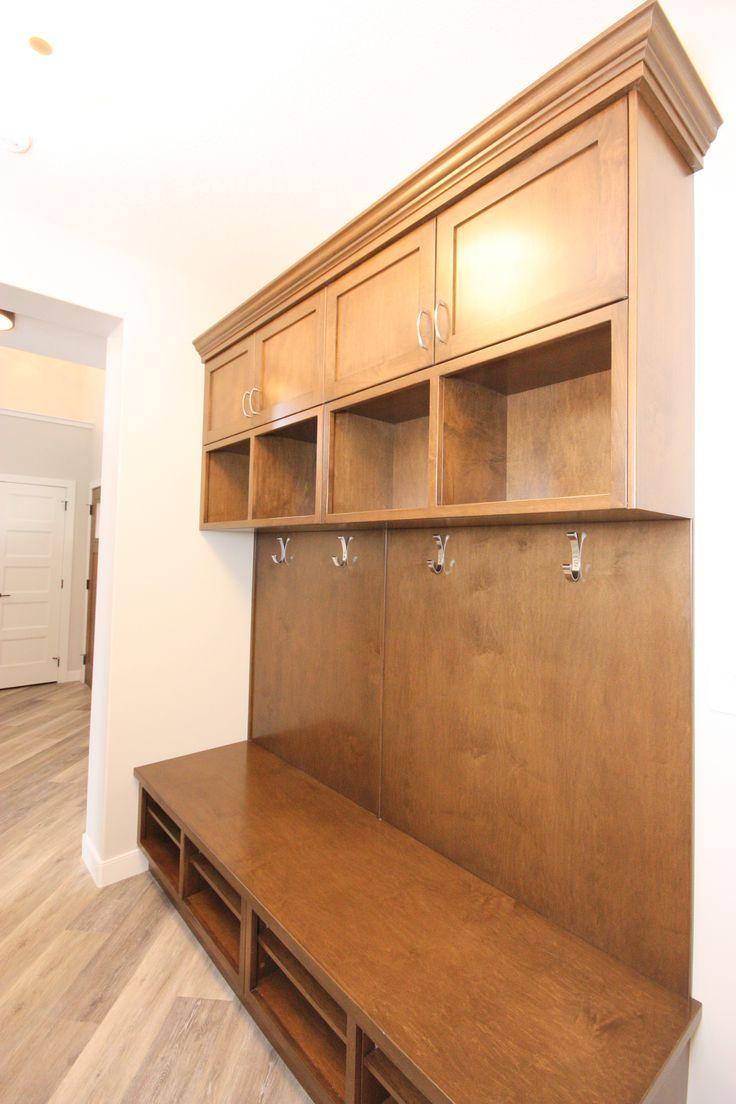 Custom lockers, mud room, storage