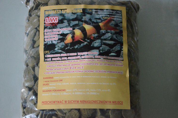 Pokarmy akwarystyczne suszone, płatkowane, liofilizowane i granulowane |  Liwi