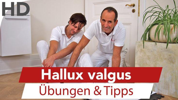 Hallux valgus // Übungen und Tipps zur Selbsthilfe