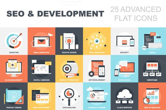 SEO and Development by vasabii on Creative Market