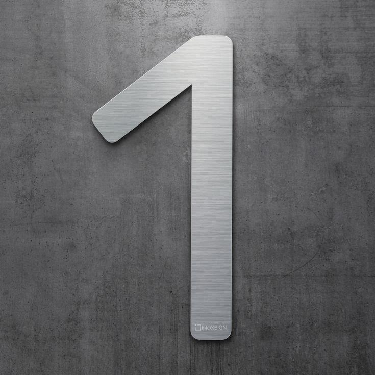 Moderne Hausnummern 22 best inoxsign hausnummern edelstahl design hausnummer