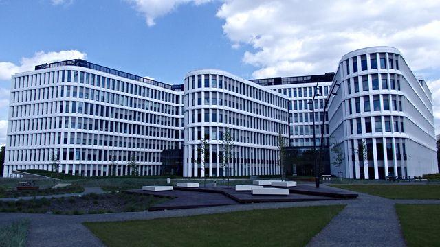 Business Garden II - Warszawa, Ochota, Włochy #warszawa #biurowce