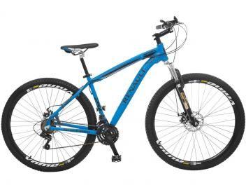 Bicicleta Colli Bike Renault Mountain Bike Aro 29 - 21 Marchas Suspensão Dianteira Freio a Disco