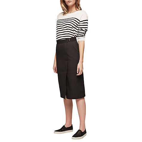 Buy Gerard Darel Jill Skirt, Black Online at johnlewis.com