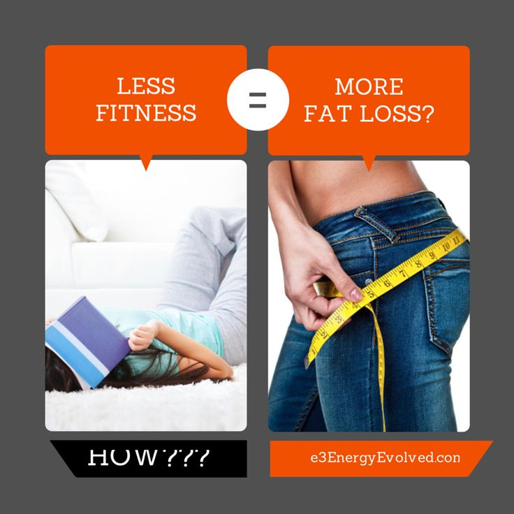 If what you're doing isn't working, why would doing more of something that's not working generate a better result? Learn the mistake you're making when you're not seeing the natural fat loss results you expected. http://e3energyevolved.com/less-fitness-means-more-fat-loss/