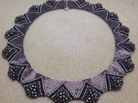 Dune Necklace - A Bronzepony Beaded Jewelry Design - YouTube