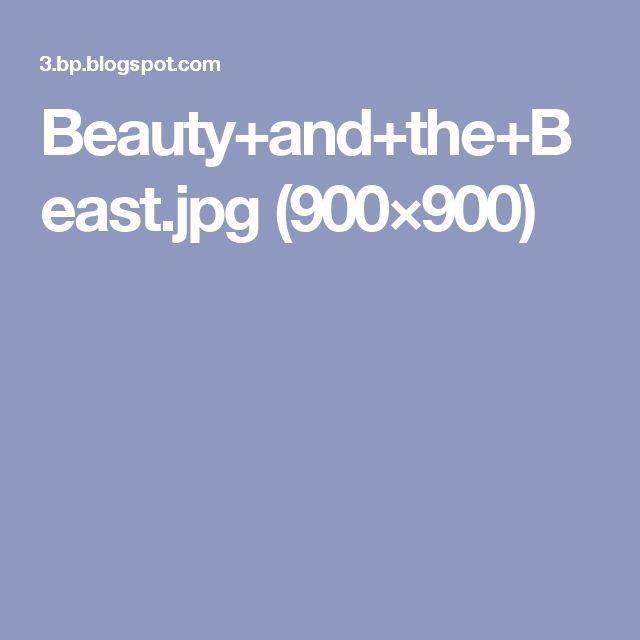 Beauty+and+the+Beast.jpg (900×900)