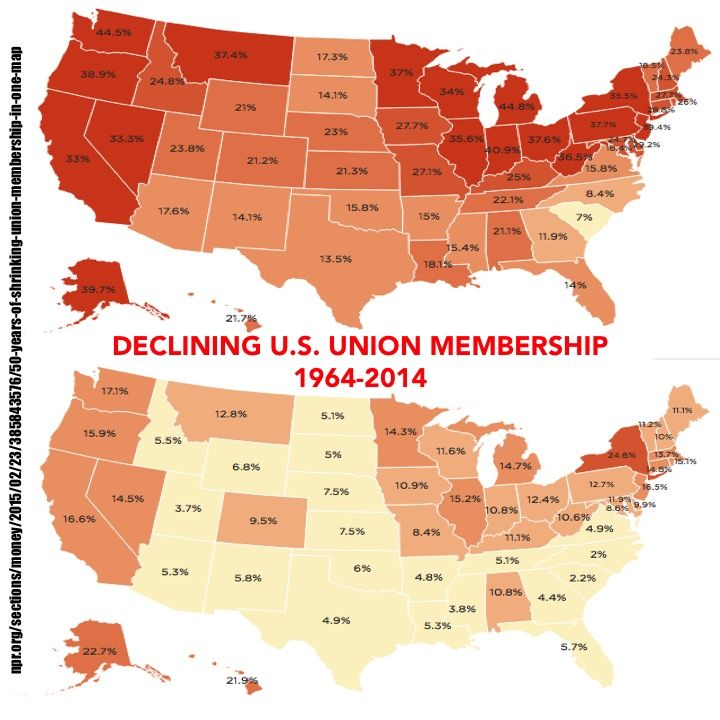 #1percent #economics #economist #wealth #austerity #incomeinequality #deregulation #woke #bernie #berniesanders #unions #unionbusting #righttowwork #laborunion #laborday