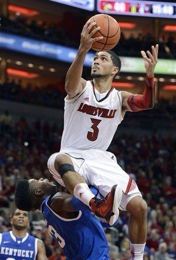 Peyton Siva for Louisville Cardinals