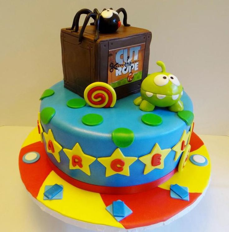 cut the rope birthday cake