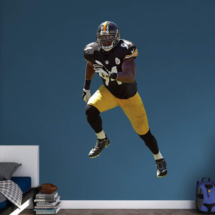 Fathead NFL Pittsburgh Steelers Lawrence Timmons Wall Decal - 12-21516