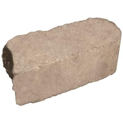 This is my lawn / garden edging... Pavestone 3.5 in. x 11.4 in. Rumblestone Cafe Concrete Edger-95569 at The Home Depot