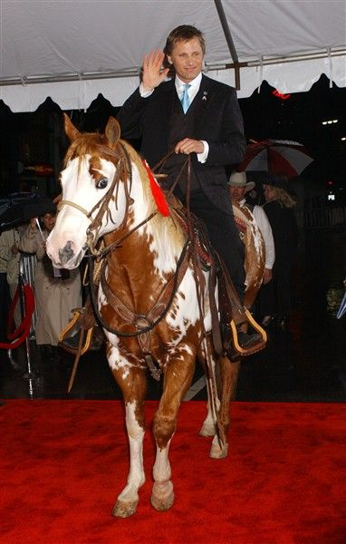 """Viggo Mortensen    You could say that horses are one of Mortensen's major passions in life. The actor got so close to Uraeus and Kenny, the two horses he rode in """"Lord of the Rings: The Return of the King,"""" that he purchased them at the end of filming. He also bought T.J., the horse he rode in the film """"Hidalgo."""" His love of horses inspired him to publish a photography book, """"The Horse Is Good,"""" partially shot from his time working on """"Hidalgo."""""""