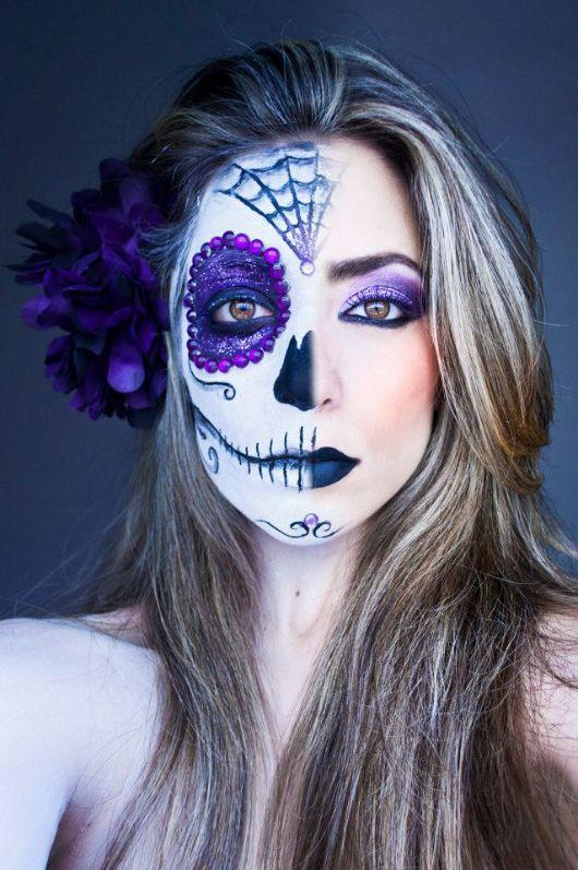 Purple Candy Skull :)