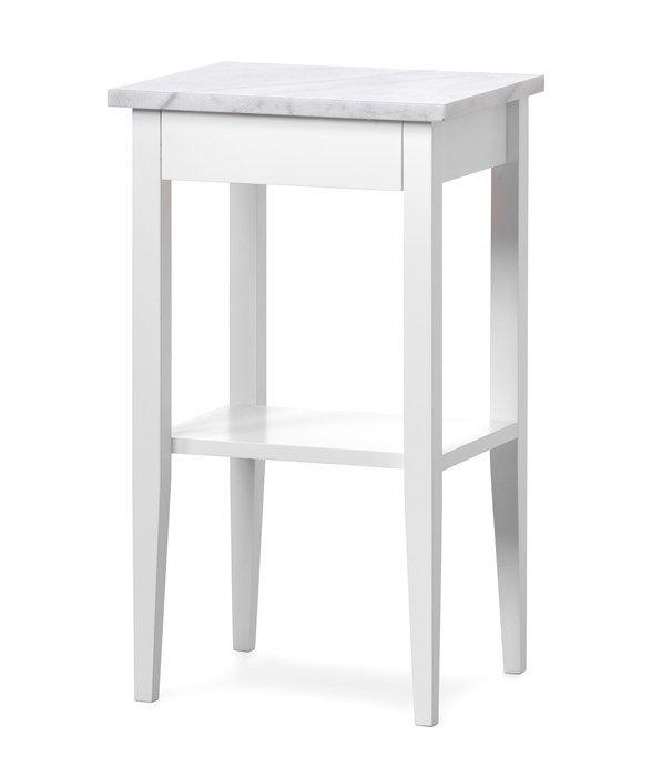 Produktbild - Torekov, Sängbord med marmortopp