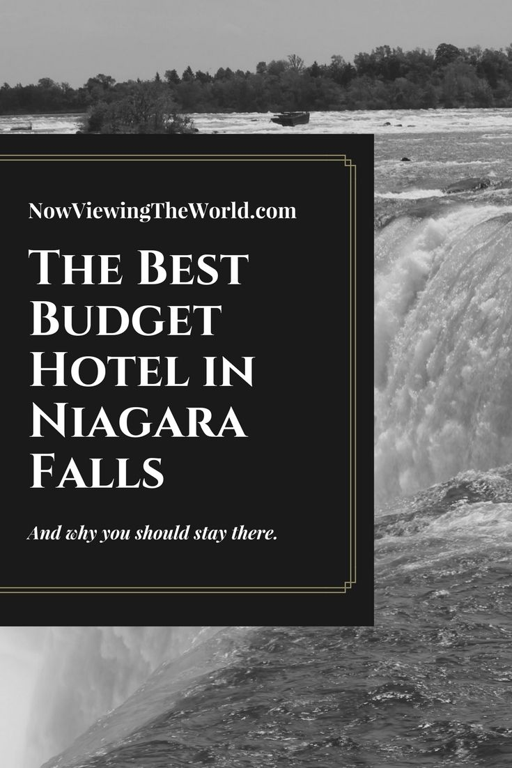 Hotel review for Quality Hotel Fallsview Cascade in Niagara Falls, Ontario, Canada #traveltips #hotelreview #canada