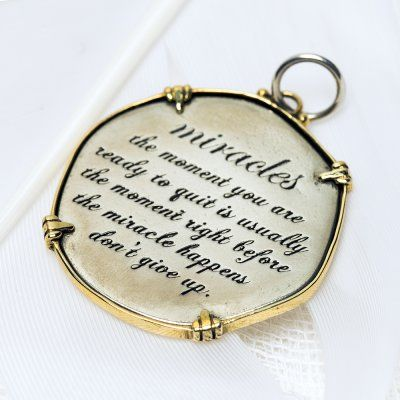 Miracles charm 3050 > RRP $AUD44.00 #lovepalas #fearless #goforit #2014 #brave #courage #takecontrol  #palasjewellery #nofear