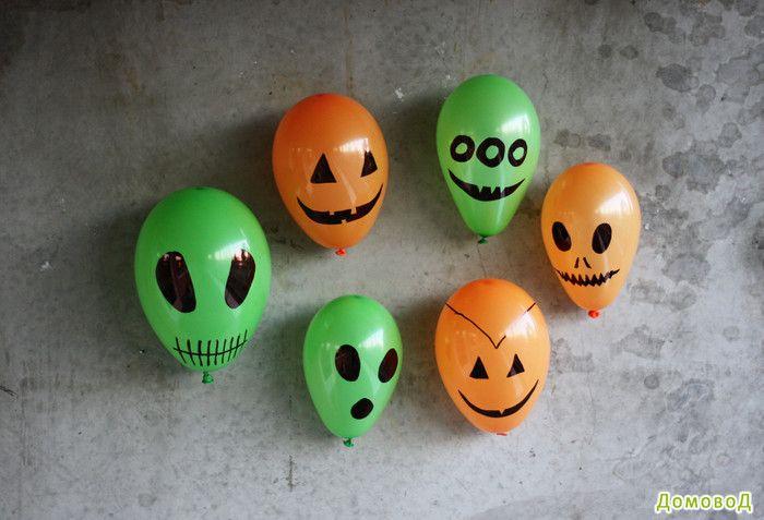 Хеллоуин: украшаем дом!