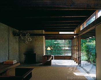 Rudolf Schindler House, Los Angeles, California 1887-1953.