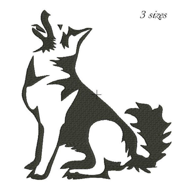 German Shepherd dog embroidery design machine embroidery design Digital Download  instant dog head design by GretaembroideryShop on Etsy
