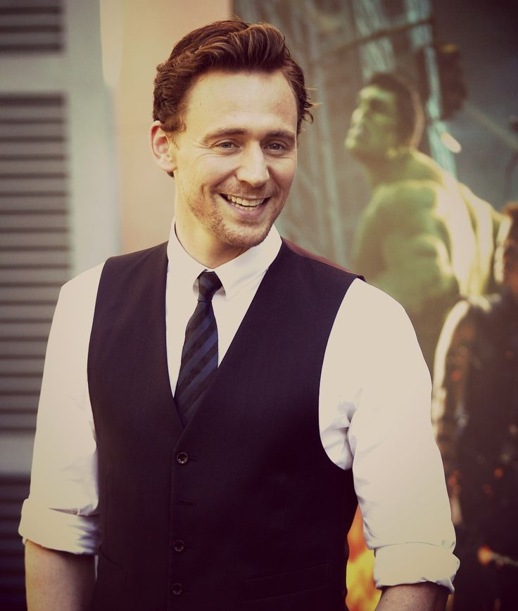 Tom Hiddleton - though he may be Loki. I love him:) he is the sweetest:)