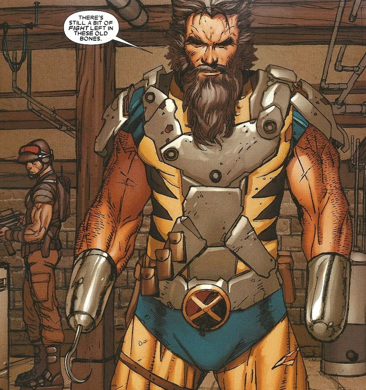 Marvel wolverine yellow brown suit - Google Search | Wolvie