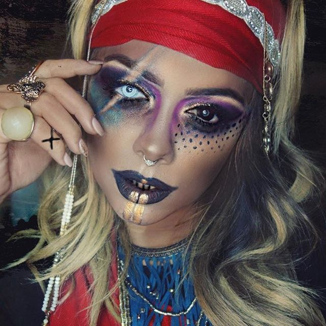 14 Best Pirate Images On Pinterest | Artistic Make Up Make Up Looks And Carnivals