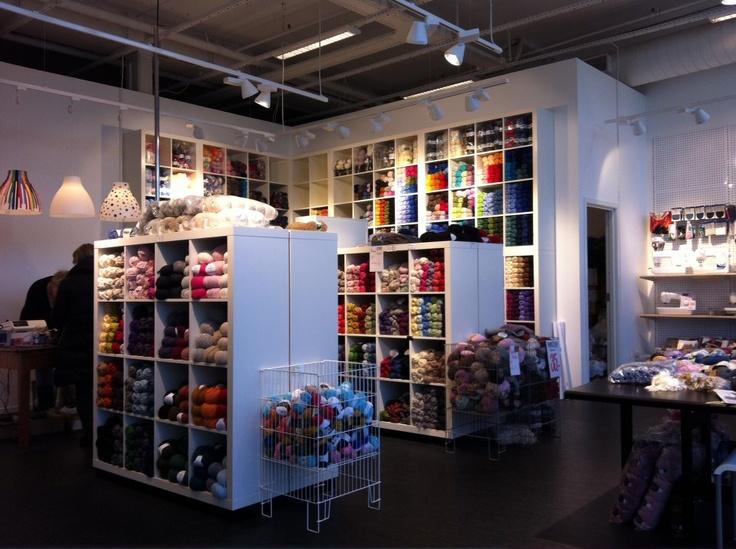 "DROPS Store ""Sy med oss"" in  Åkrehamn, Norway"