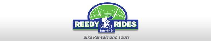 The #1 Bike Rental and Tour site in Greenville. Bike up bikes at Downton Greenville shop, Downtown Traveller's Rest Shop, or at Greenville Hotels.    Specialized bike tours make great group activities!    http://www.reedyrides.com/