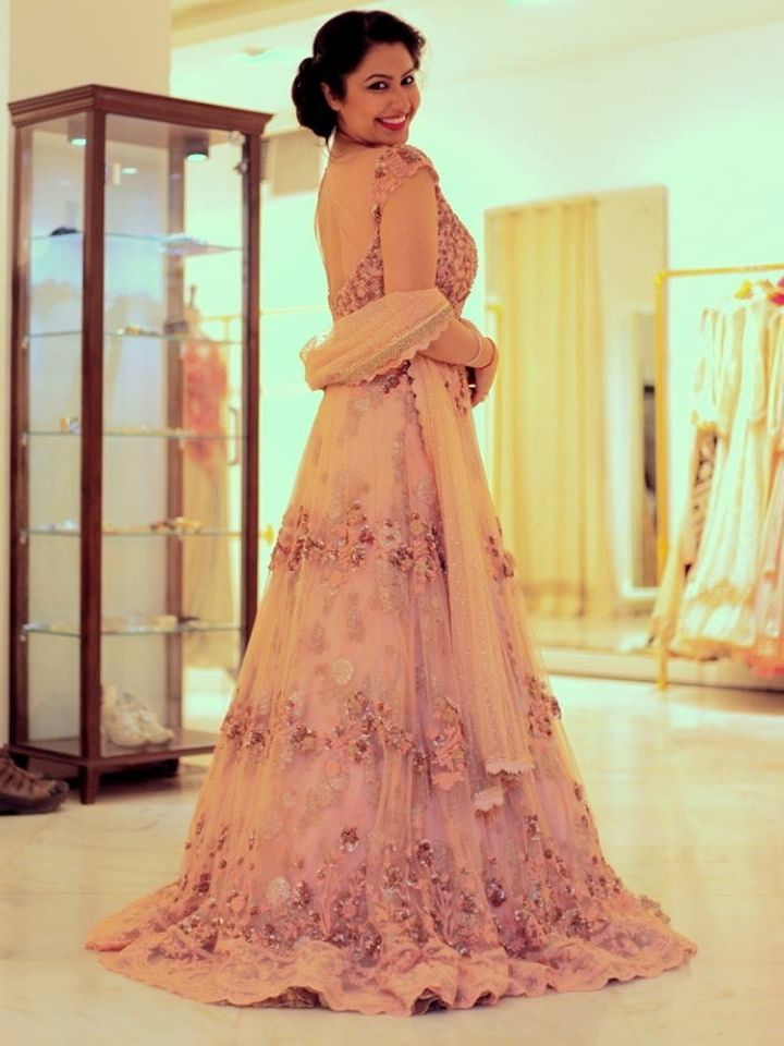 Delhi based designer, Dolly J's latest collection. Photo: Wed Me Good