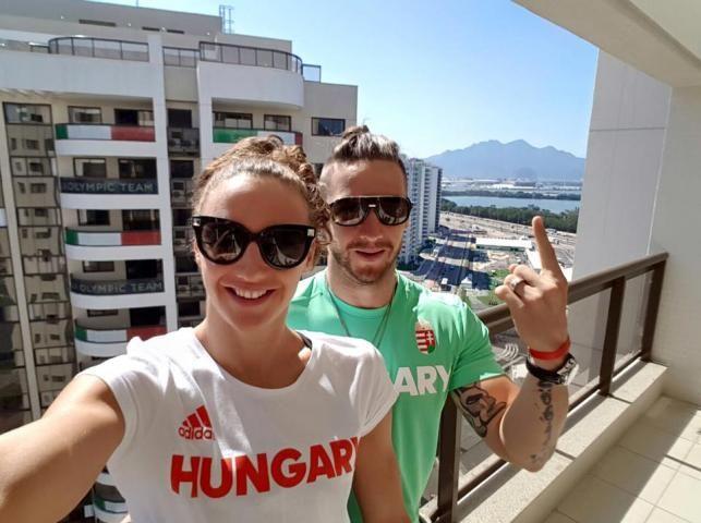 Hosszú Katinka és férje Rióban | Fotó via Facebook, Hosszú Katinka - PROAKTIVdirekt Életmód magazin és hírek - proaktivdirekt.com