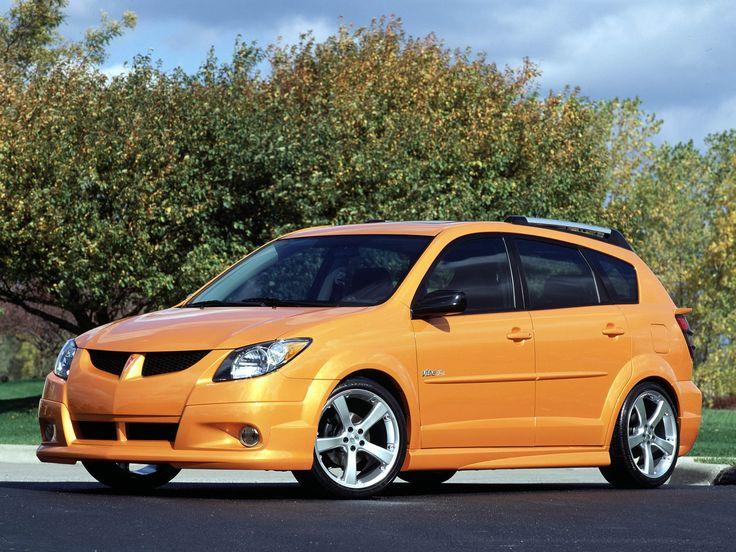 Pontiac Vibe. Like the orange. Needs a sports package.