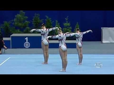 Acrobatic Gymnastics Worlds 2010 Ukraine WG Combined - YouTube