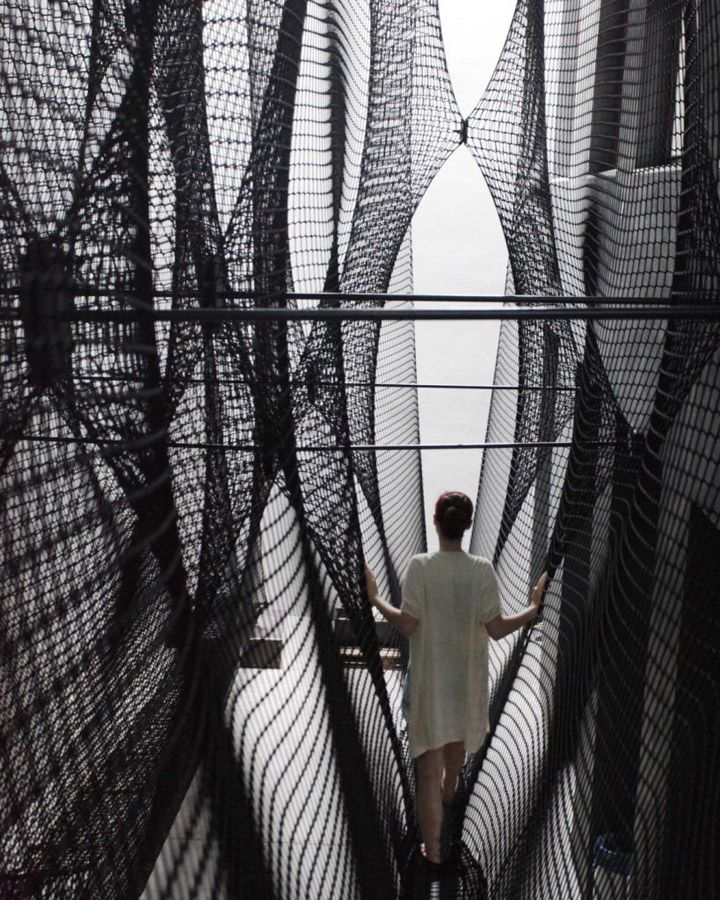 Net Linz installation by Numen / For use » Retail Design Blog