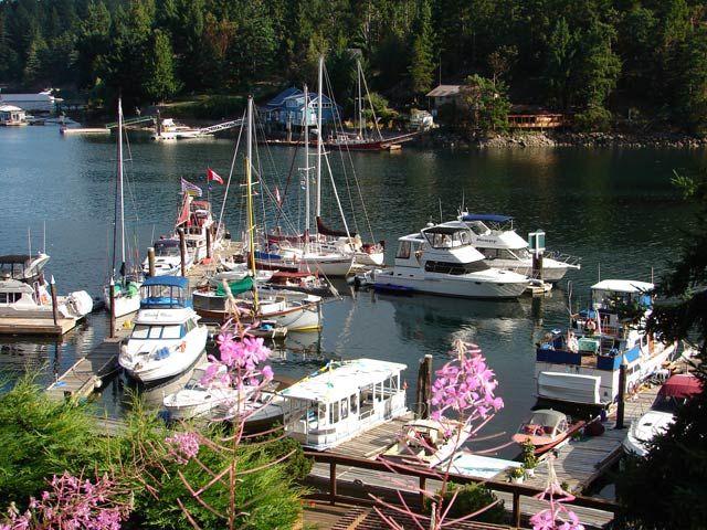 The Marina at Sunshine Coast Resort | Pender Harbour, BC, Canada