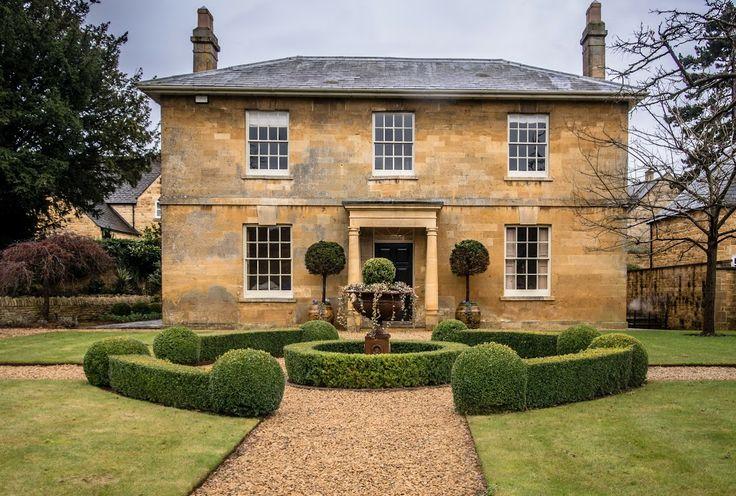 lovely sandstone house
