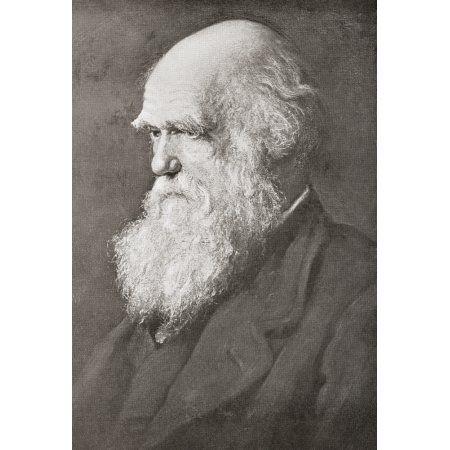 Charles Robert Darwin 1809 Canvas Art - Ken Welsh Design Pics (22 x 34)