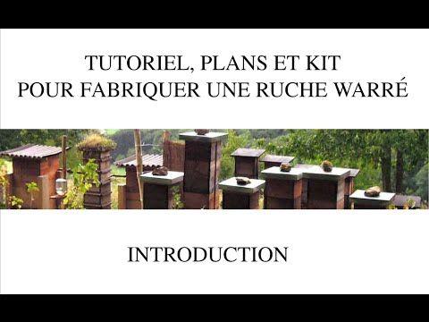 Réseau de permaculture d'Alsace | Tutoriel, plans et kit pour fabriquer une ruche warré économique en bois de mélèze
