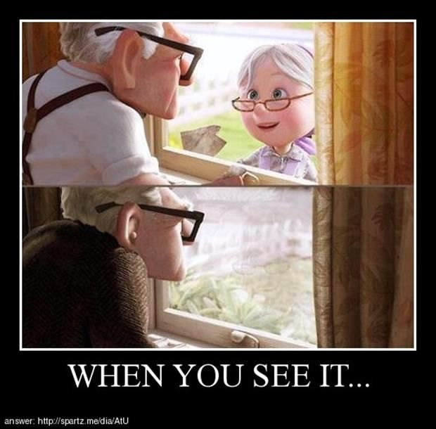 when you see it...omg never noticed that!!!!!...why did that just break my heart evenmore