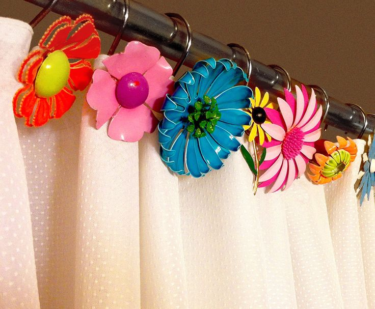 466 best bohemian decor images on Pinterest | Shower curtain ring ...