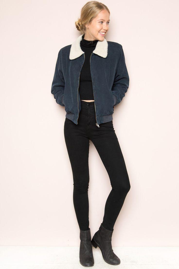 Brandy ♥ Melville | Nelson Fur Jacket - Clothing