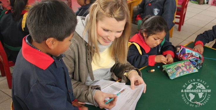 Volunteer in Cusco, Peru with A Broader View Volunteers, a registered nonprofit charity in USA. Our programs help support children care, education and healt https://www.abroaderview.org/volunteers/peru/cuzco-cusco